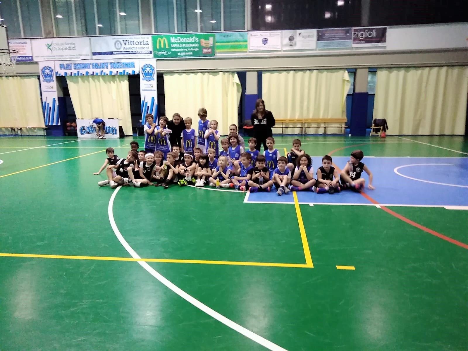 Minibasket: Play Day in tour a ... Gavardo